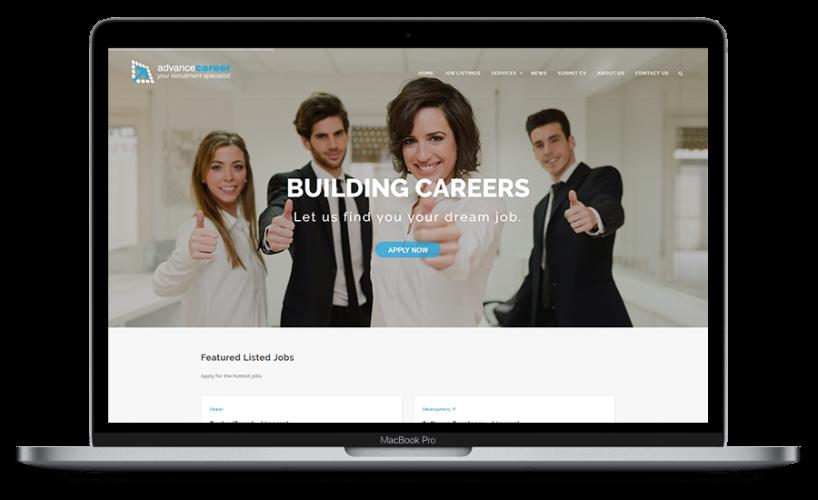 macbook pro sample webpage